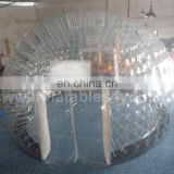 Bubble tent with floor for events