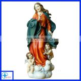 customized resin virgin Mary figure religious figure