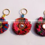 Handmade Banjara lot of 25 Pcs Key chain Indian Exclusive ethnic vintage handmade key chains
