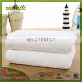 Cheap price hot sale white color 100% cotton hotel towel