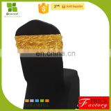 hot sale rosette chair sashes cap  for wedding OEM