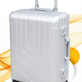Zipper Border  Self-return Handle Case Discount Luggage