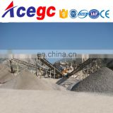 Sand making plant with stone crushing,vibrating classifying machine