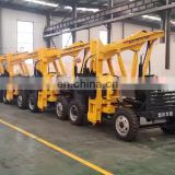 Highway Steel Fence Guardrail pile driver for construction