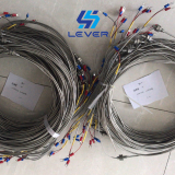 Bendable Armored Thermocouple / Resistor Temperature Transmitter