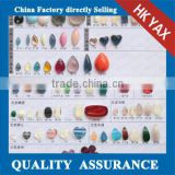 N-1111 china supplier sew-on resin stone, pure color sew on resin stone,sew-on resin stone