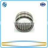 Flat needle roller bearing with machined rings without flanges without an inner ring