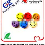 Badge supplier kinds of magnetic rubbr badge,smiley face badges