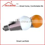 ANJUBANG zigbee home automation Wireless Control Multicolor smart lighting E27 6w LED smart bulb