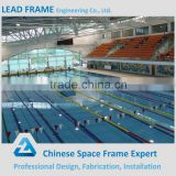 Hot galvanized steel space structure swimming pool cover