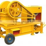 Professional manufacturer mobile small Jaw Crusher with Diesel Engine                                                                         Quality Choice
