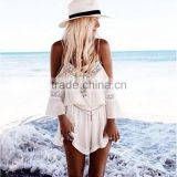 Womens Holiday apparel lace chiffon dress sexy girl dresses women summer dresses beach designer one piece party dress                                                                         Quality Choice