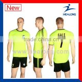 Cheap Sublimation soccer referee jersey made in china