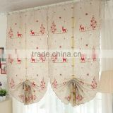 2015 fashional living room Roman roller blind Latest designs Blackout Luxury meeting room window curtain shower curtain