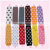 New fashion baby leg warmers cotton with polka dot sock manufacturer                                                                                                         Supplier's Choice