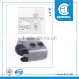2015 HOT vertical pipe lifting clamp / pvc pipe fitting saddle clamp / aluminum pipe clamp factory price