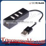 Promotional Multiport Adapter 4 Port Usb Hub With Power Supply
