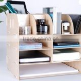 4 Layers Drawer Boxes Set wood Desk Top Organizer
