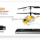 rc control and APP control helicopter with full 3.5ch function and built-in Gyroscope