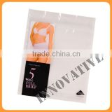 best price customized printed biodegradable laminating ziplock packaging plastic for lingerie