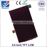 "very small lcd screen 4.0"" 480x800 TFT LCD module without touch screen with JTD040434I5 MIPI interface"