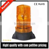 12V-80V LED warning strobe light, screw mounting waterproof amber/red/blue warning stobe light with 6pcs LED