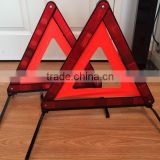 Safety led traffic warning triangle