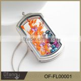 2015 New Design Living Memory Charm Locket Pendant Necklace