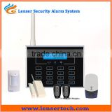Smart Professional 2014 New Wireless Home Alarm System with APP control GSM Security System