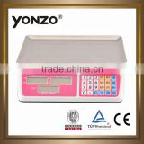best value hot selling acs 30kg commercial scale model