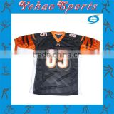 Quality cheap youth American football jersey polyester fabric