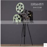 polyresin artificial Movie projector home decor