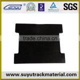 rubber pad used railroad track