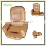 PU leather with armrest 5 positions adjusted folding lazy floor sofa reclining chair tatami BS-187