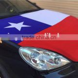 eco-friendly Chile flag cover, Automobile engine hood cover,polyester car cover