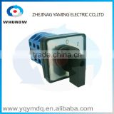 LW26-25/3 High quality dc voltage automatic electrical changeover rotary cam switch three poles 25A sliver point contacts