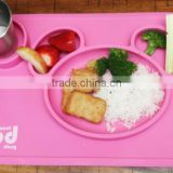 BPA Free Wholesale Non-slip Silicone Baby Hot Food Table Mat