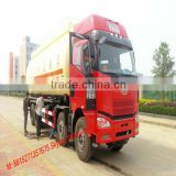 DTA Faw 8*4 Dry bulk cement truck 40~47M3 cement road tanker factory sale skype :tomsongking Cell: 0086-15271357675