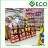 Cardboard Floor Displays Book Display Stand Cardboard Flooring PDQ POS POP Corrugated Cardboard Display