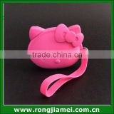 Promotion Gifts Metal Locker Hello Kitty Mini Bulk Wholesale Silicone Coin Purse