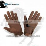 Suede Artificial Leather Horse riding Gloves