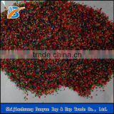 Colored quartz sand for construction, swimming pool