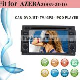 dvd car audio navigation system fit for Hyundai Azera 2005 - 2010 with radio bluetooth gps tv