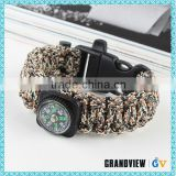 Best selling durable using free samples survival paracord bracelets