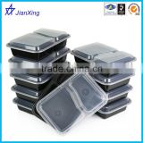 Takeaway Plastic Food Container divided Clear Plastic lunch box