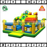duck inflatable trampoline fun land for kids,inflatable playground balloon fun city