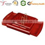 Red painting wood bulk desk calendar top quality accept custom Logo                                                                         Quality Choice