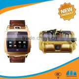 Excellent Design Quad Band GSM wrist Watch cell Phone with SIMVALLEY PW315 1.54' Capacitive Touch Screen                                                                         Quality Choice