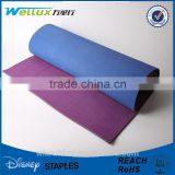 Custom mesh fabric surface natural rubber yoga mat                                                                         Quality Choice