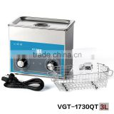 VGT-1730QT 3L tattoo instruments ultrasonic cleaner with timer and heater